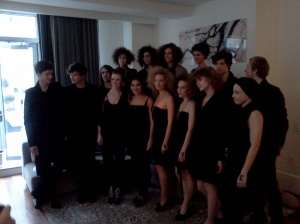 Another group shot Paola Hernández Fall 2011 Presentation.